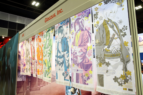 The Gloczus, Inc. booth at AFA 2014.