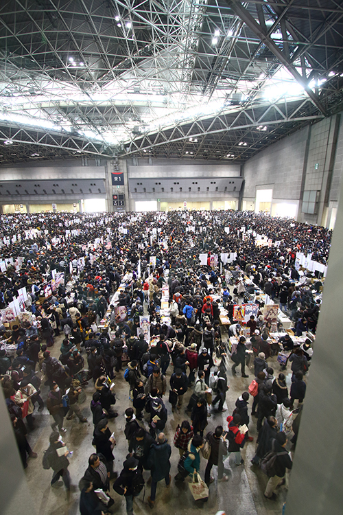 Hall crowds at C89