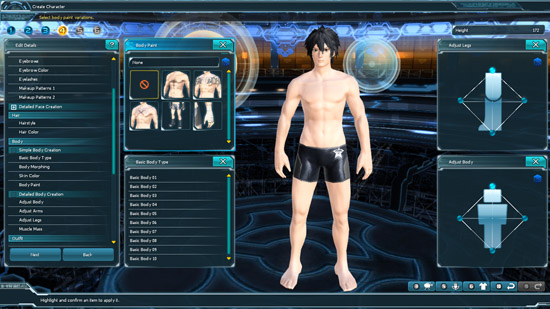 With the customization options, you can pretty much adjust anything. Well, almost anything. :x