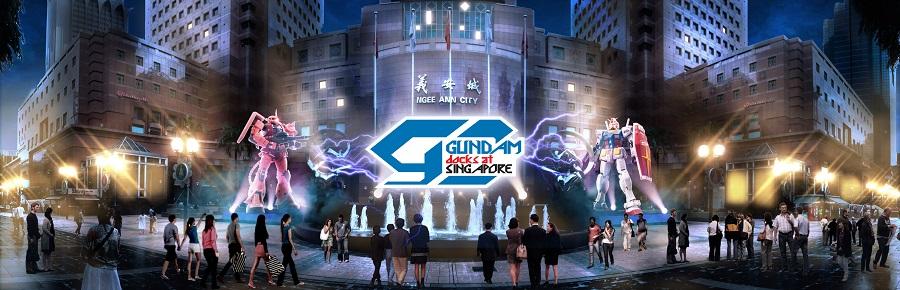 Gundam Docks at Singapore - Image 1 (Photo credit © SOTSU・SUNRISE)
