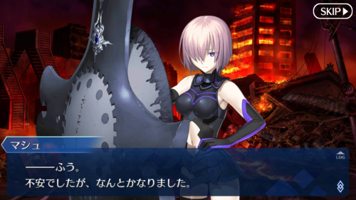 The story reads like a visual novel. Also, who woulda thunk your kouhai would be part-Heroic Spirit?