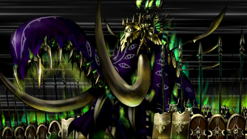 Darius III's Noble Phantasm - who doesn't want to be trampled by demonic elephants and hordes of undead?